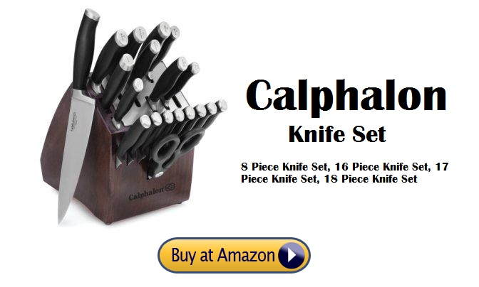 Calphalon Knife Set (8,16,17,18 Piece ) Reviews